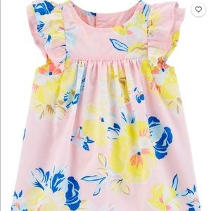 NWT - Super cute flutter dress and diaper cover